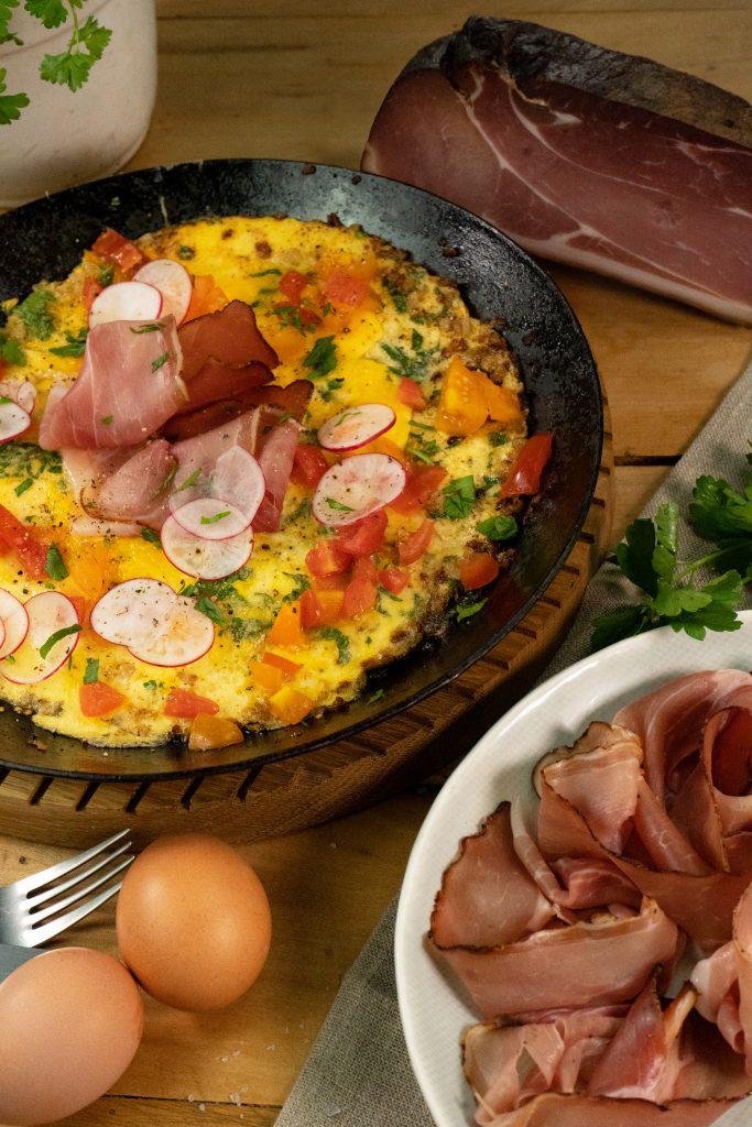 Omelett Schwarzwald Edition